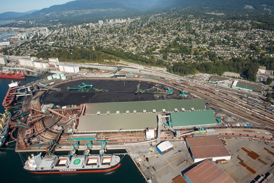 Canpotex's Neptune bulk terminals in Vancouver, British Columbia